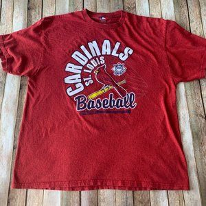MLB official St. Louis Cardinals 2XL graphic tee